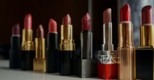 how to tell if makeup is expired, especially this picture of random lipsticks