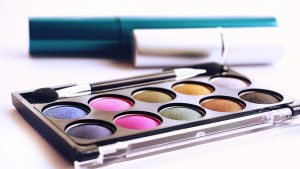 A picture of an eyeshadow palette in How to tell if makeup is expired
