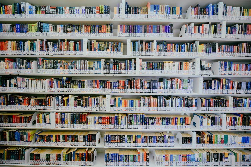 White Library Books for Home improvement books